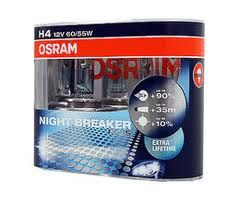 izzó H4 Osram Night Breaker Plus 90% (párban)