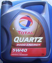 motorolaj Total Quartz 9000 5W40 5lit.