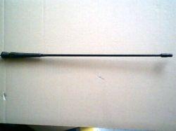 antennaszár fekete 43 cm/5mm/k