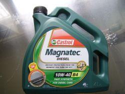 Castrol Magnatec Diesel10W40/4 lit. motorolaj