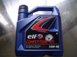 motorolaj részszintetikus 10W40/4 lit. ELF Competition STI