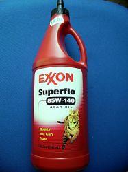 Hajtóműolaj Exxon 85W140