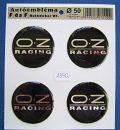"Felni matrica ""OZ-Racing"" 4db-os szett"