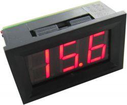 feszültségmérő digitális,beépíthető