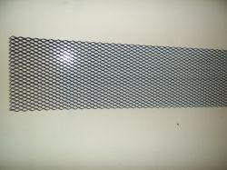 hűtőrács alumínium fekete