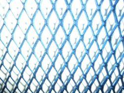 hűtőrács alumínium kék