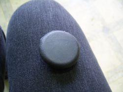 Padló gumidugó 42 mm