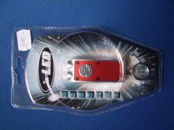 Kulcstartó 2 db led világítással