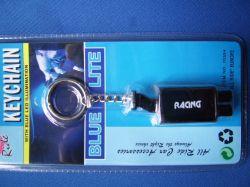 Kulcstartó kipufogódob 2 db kék színű led világítással