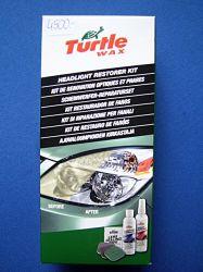 fényszóró felújító és  polírozó készlet Turtle Wax
