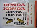 matrica szett Honda