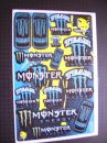 matrica szett Monster Energy
