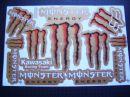 matrica szett Monster Energy
