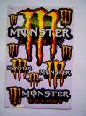 Monster matricaszett 06
