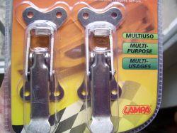 motortérzár (békazár) fémcsatos