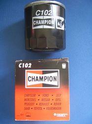 olajszűrő Ford, Lada stb.... C102 Champion